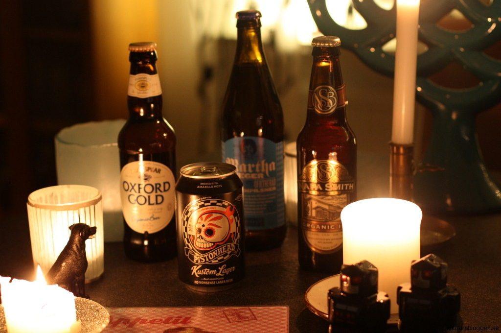 Ekologiska öl.