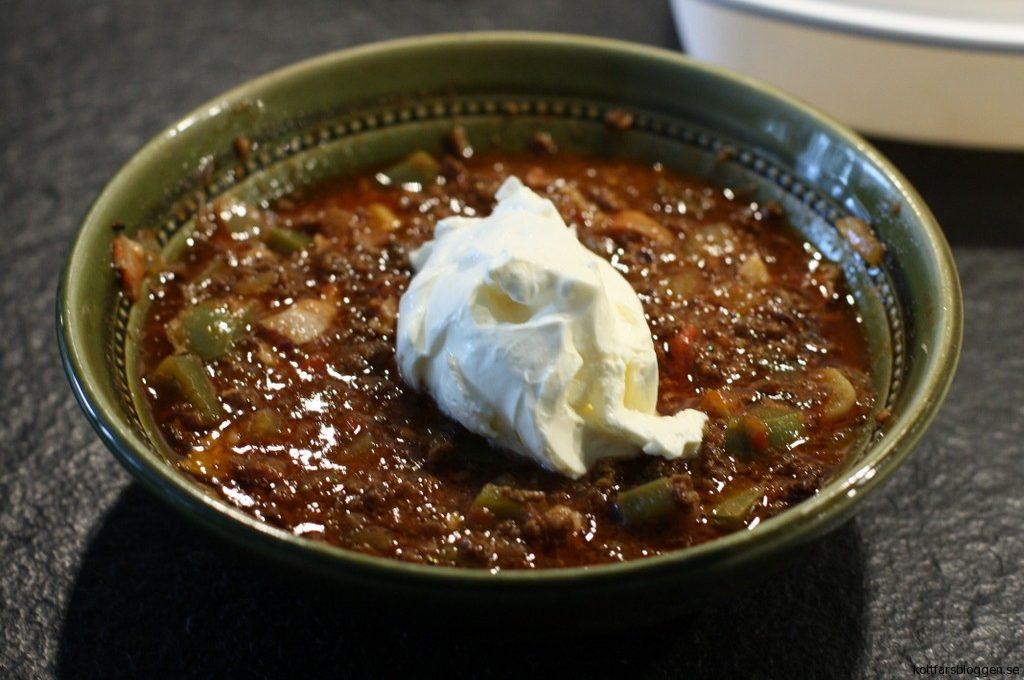 mexikansk gryta recept