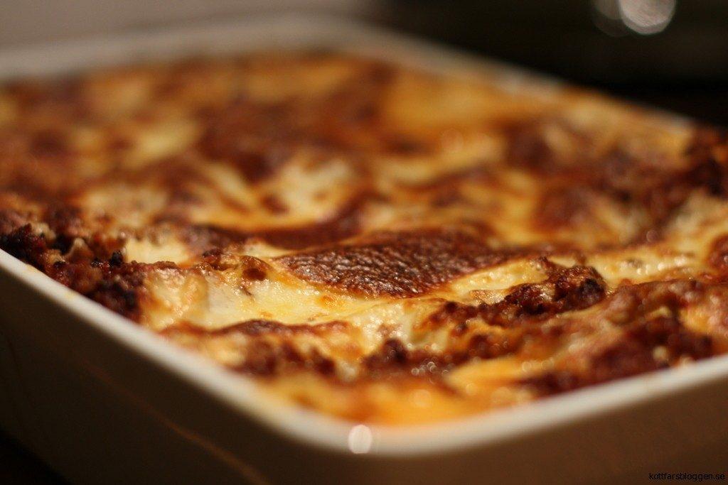 Lasagne. Färdig att serveras.