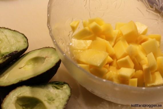 Mangosallad