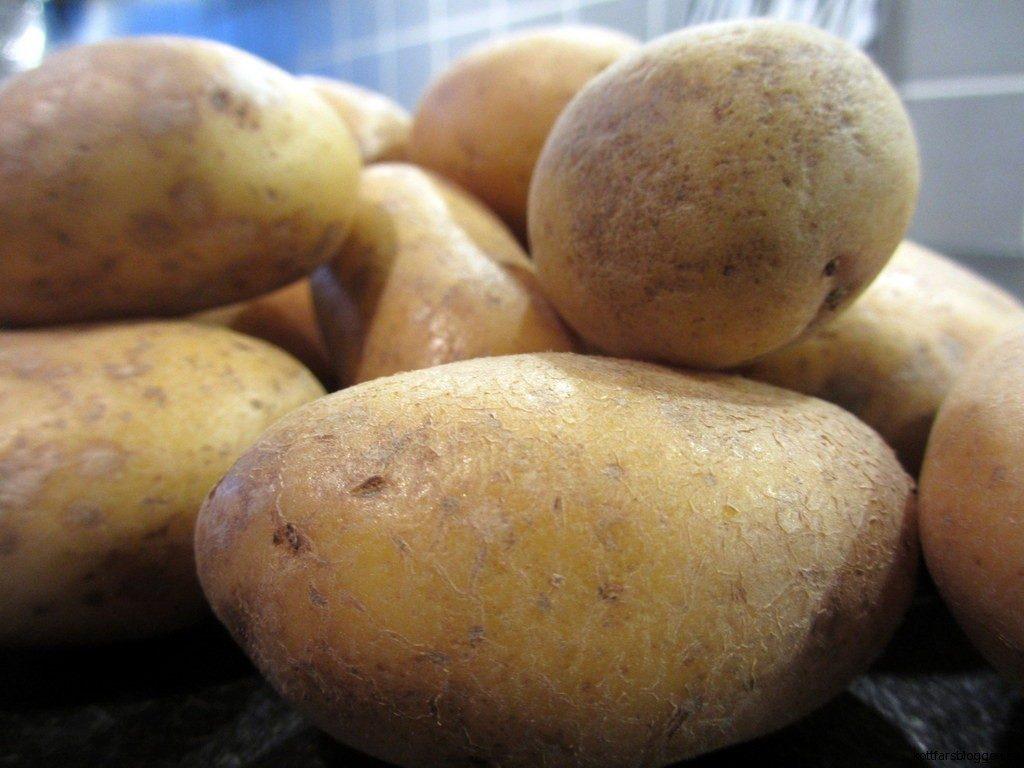 Potatis till gratäng