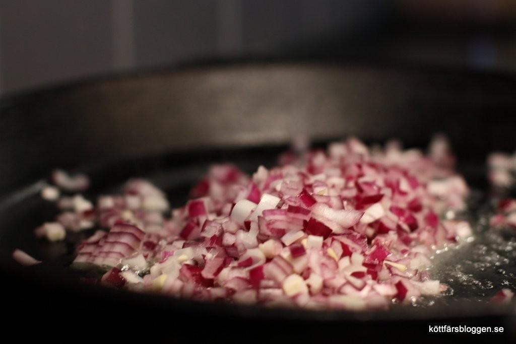 Början till baconpuckarna.