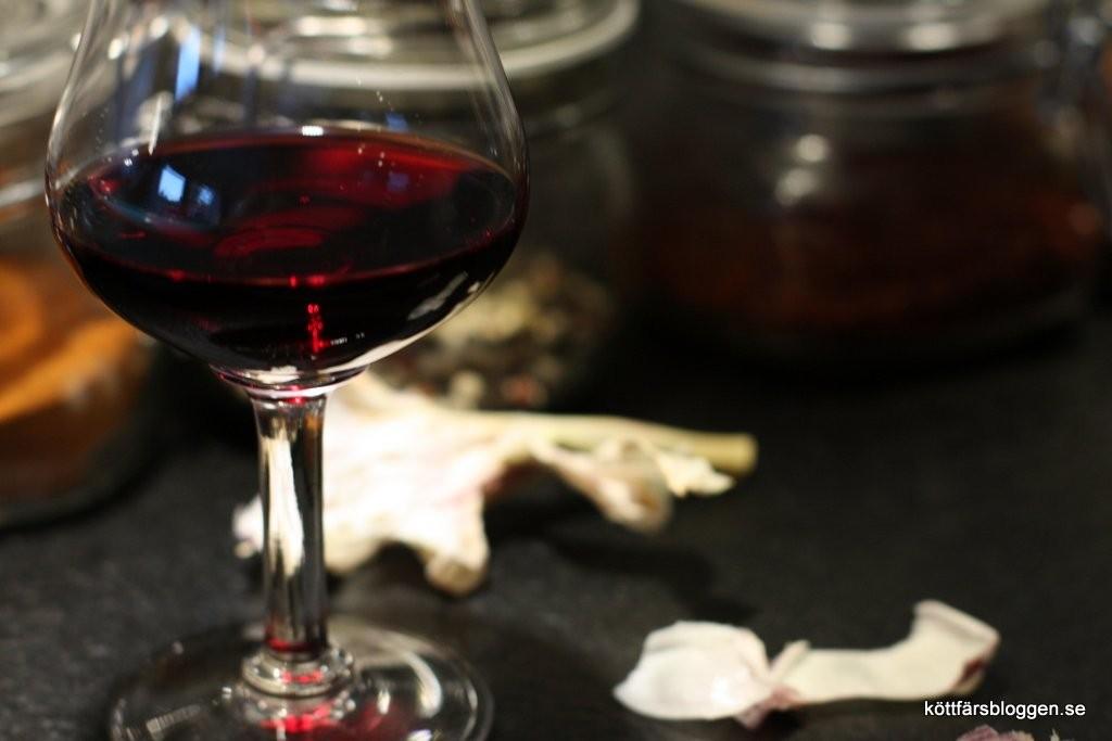Lite vin i maten och lite i glaset.