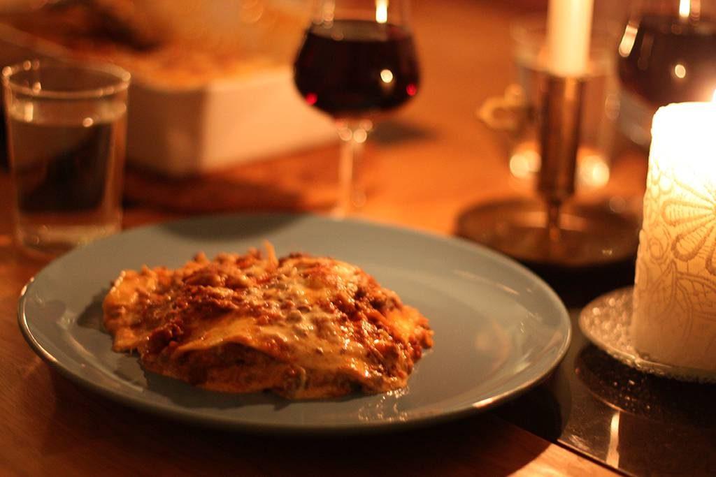 Lyxig lasagne