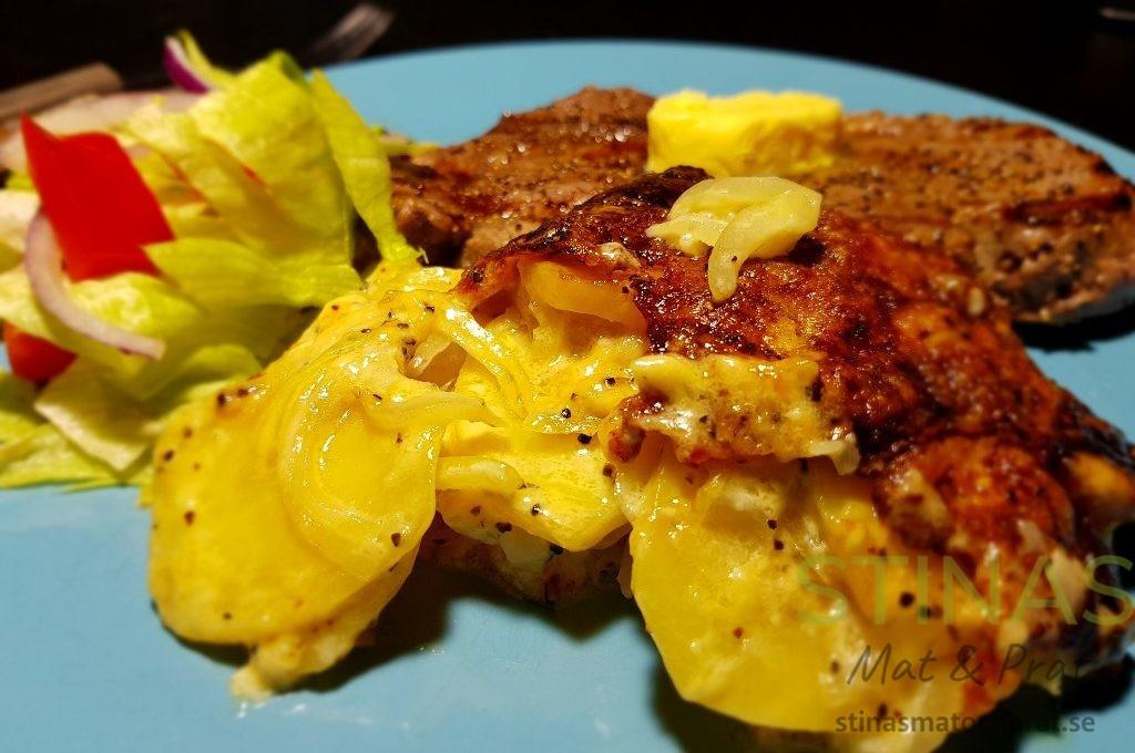 potatisgratäng fast mjölig
