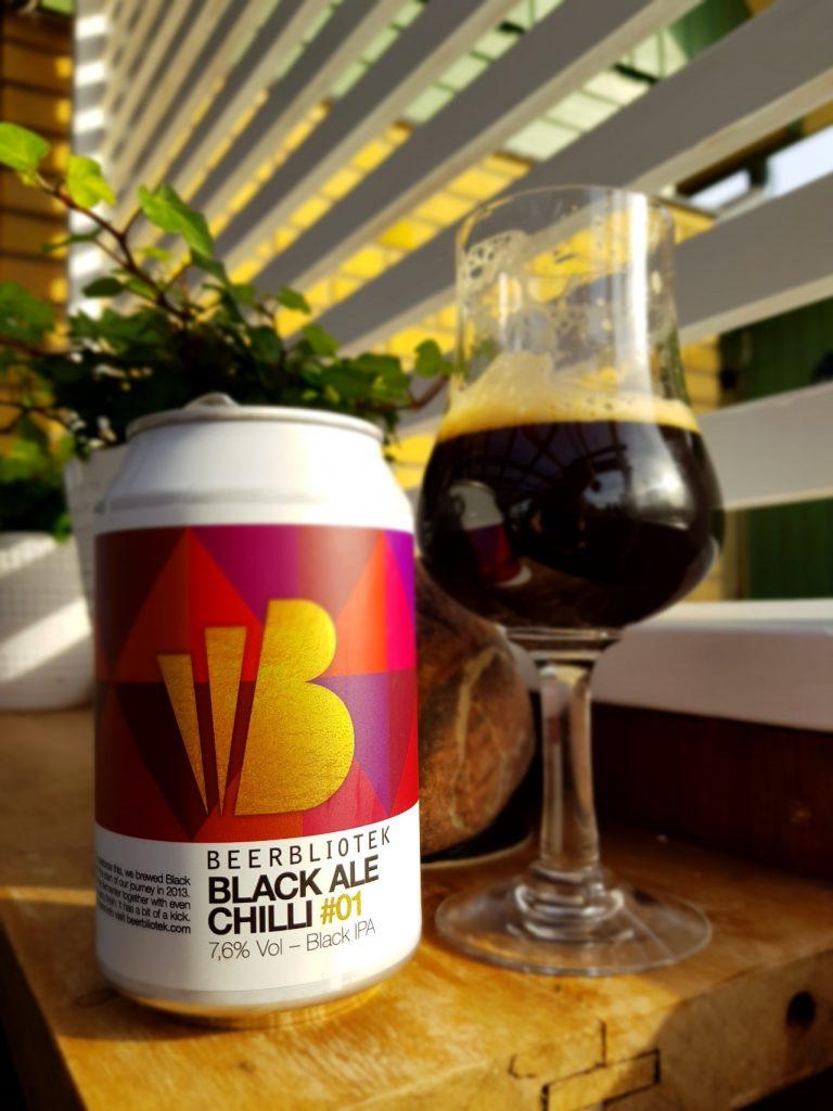 Beerbliotek - Black Ale Chilli