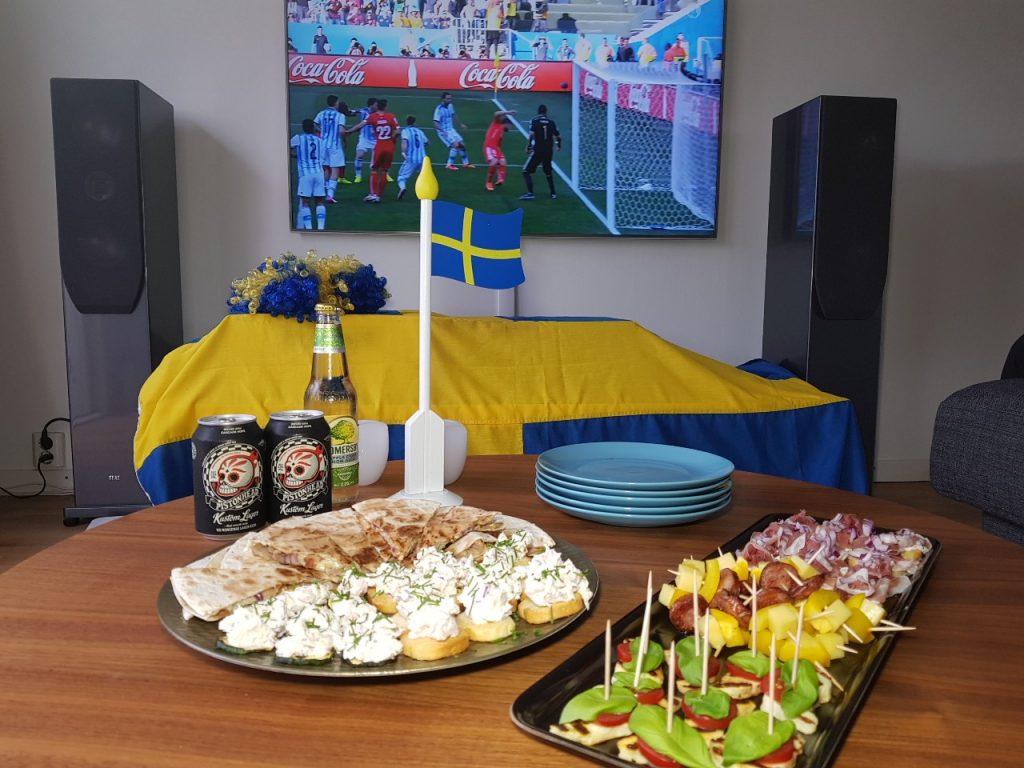 Heja Sverige! Nu vinner vi fotbolls-VM 2018