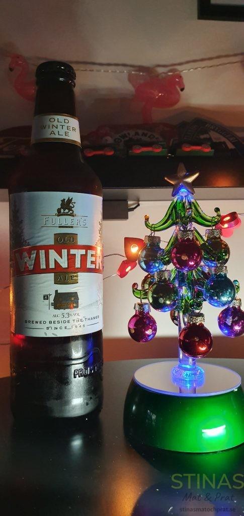 Fullers Winter Ale - tidigare vinnare av test av julöl
